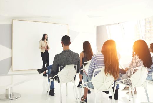 Talent retention meeting